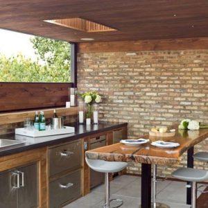 Materiaux pour mur cuisine cuisine id es de d coration for Cuisine exterieure professionnelle