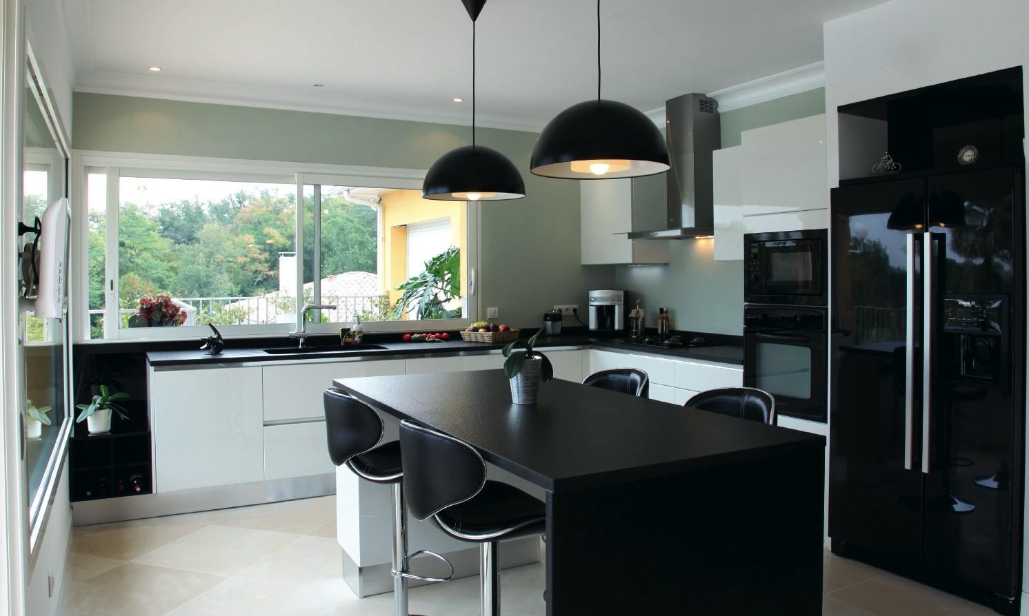 Meuble cuisine design contemporain cuisine id es de for Cuisine meuble design