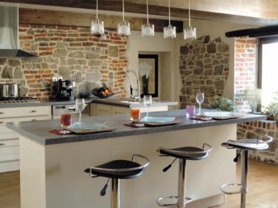 Modele de petite cuisine americaine cuisine id es de for Meuble bar pour cuisine americaine