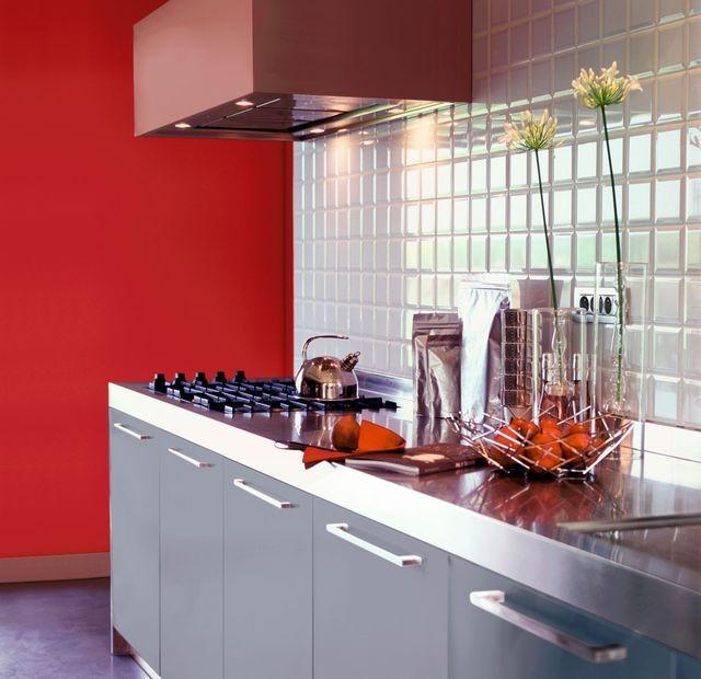 Peinture Mur Pour Cuisine Rouge
