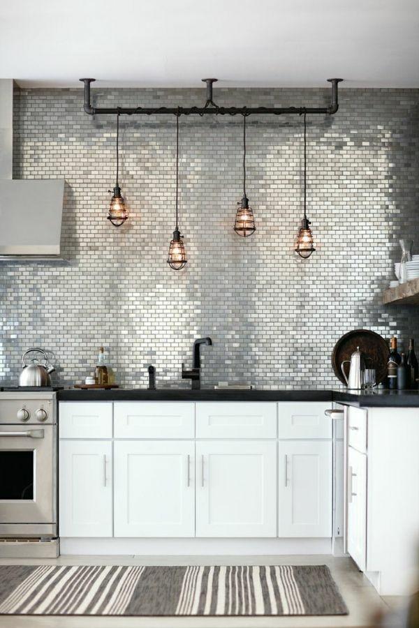 Poser Mosaique Murale Cuisine