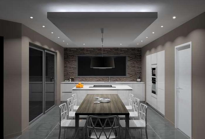 Spots encastrables plafond cuisine cuisine id es de - Spot de cuisine encastrable ...