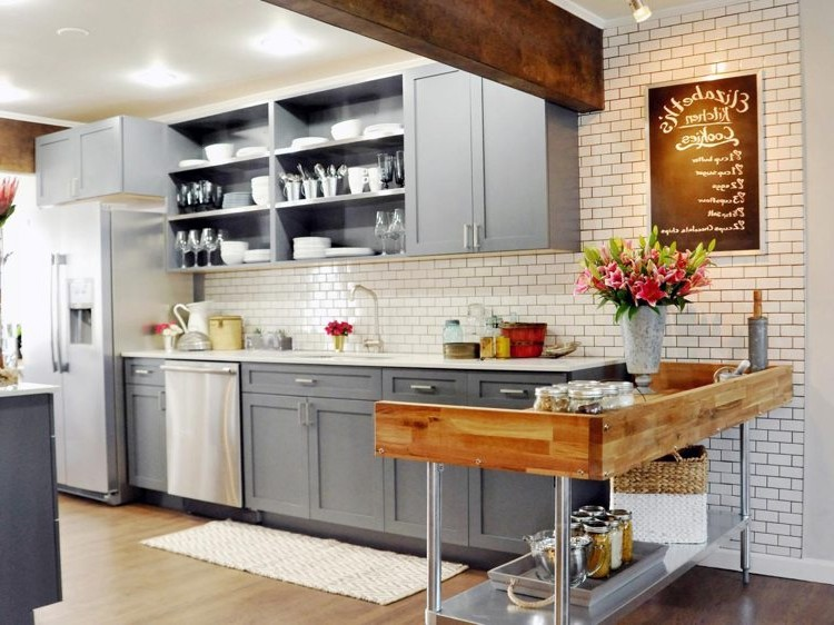 table de cuisine rustique carrel e cuisine id es de
