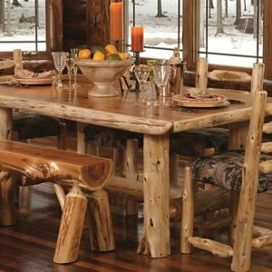 Table De Cuisine Rustique En Bois
