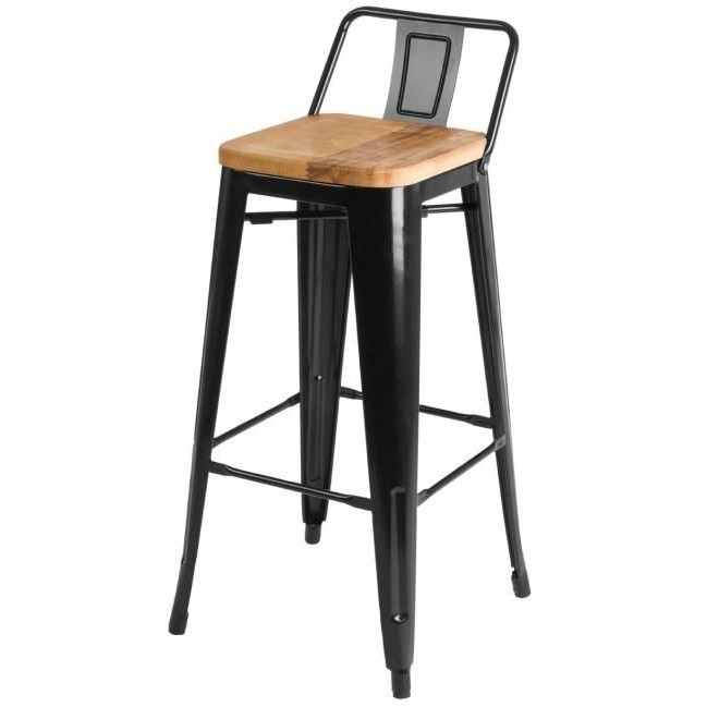 tabouret de bar avec dossier en bois cuisine id es de d coration de maison yvbr8gpl26. Black Bedroom Furniture Sets. Home Design Ideas