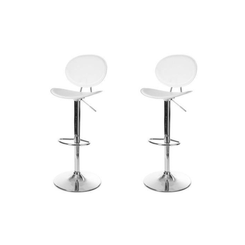 Tabouret De Bar Cuisine Design Plexiglas Transparent Orion