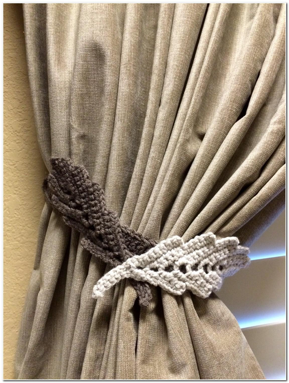 Embrasse De Rideau Au Crochet