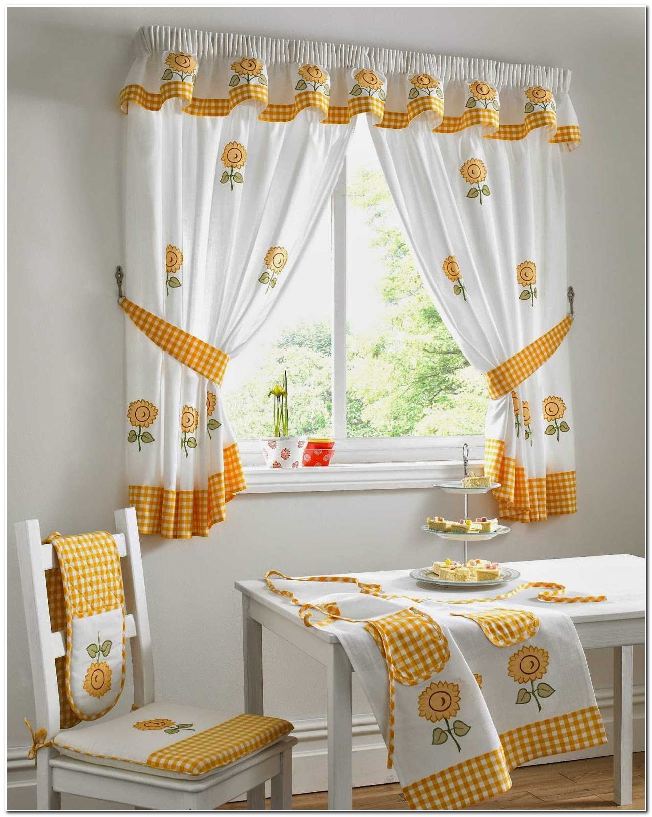 rideau de cuisine style campagne rideau id es de