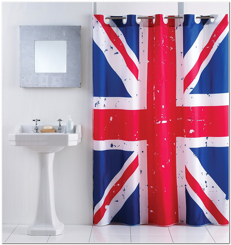 Rideau Drapeau Anglais Union Jack