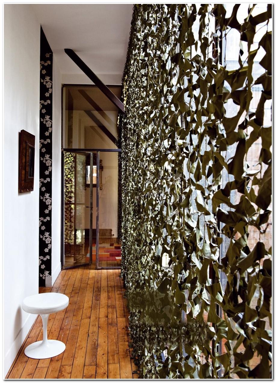 Rideau En Filet De Camouflage