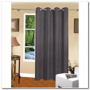 rideau noir occultant gifi rideau id es de d coration de maison v9lpyledo3. Black Bedroom Furniture Sets. Home Design Ideas
