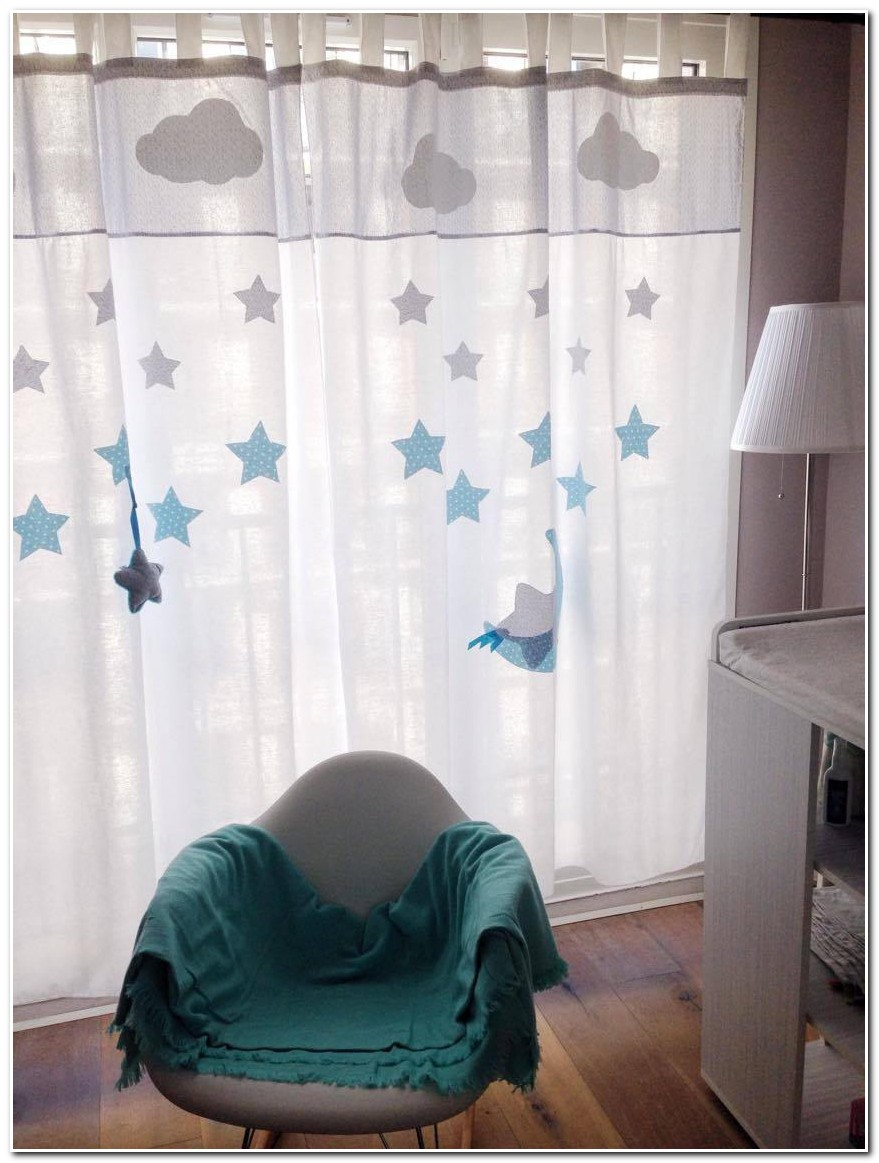Rideaux Chambre Bebe Turquoise