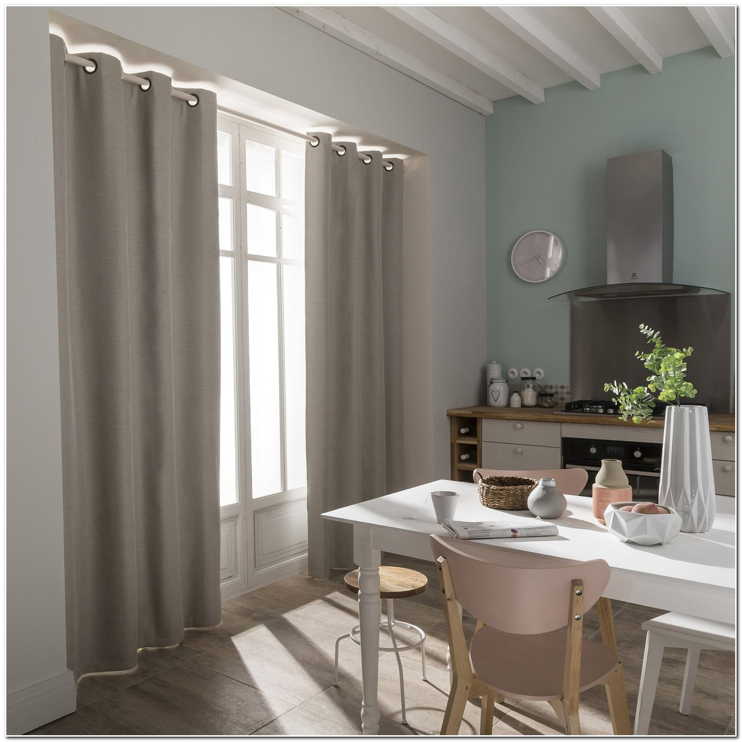 Rideaux Occultants Gris Taupe