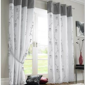 Rideaux rose poudr et gris rideau id es de d coration for Rose pale et gris