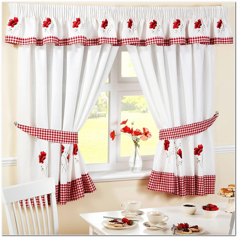rideaux rouge et blanc cuisine rideau id es de d coration de maison lblaab6lm7. Black Bedroom Furniture Sets. Home Design Ideas