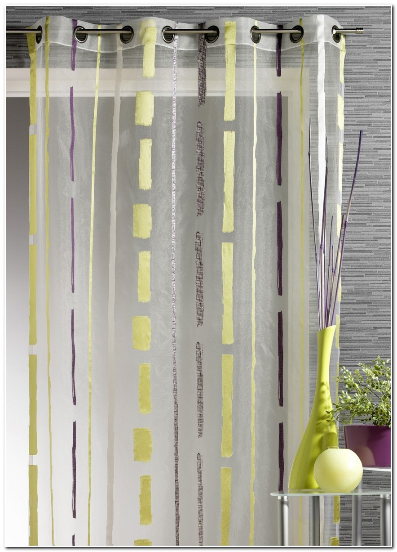 rideaux vert anis et chocolat rideau id es de. Black Bedroom Furniture Sets. Home Design Ideas