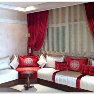 Decoration Rideaux Salon Marocain - Rideau : Idées de Décoration de ...