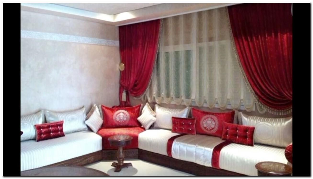 Décoration Rideaux Salon Marocain