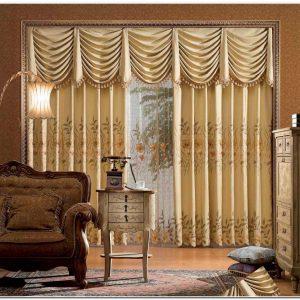 Decoration Rideaux Salon Marocain
