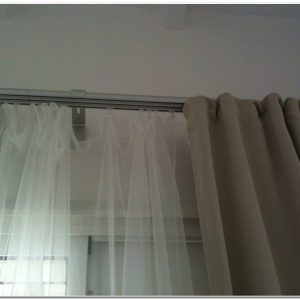Rails Pour Rideaux Au Plafond