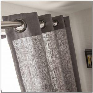 rideau rose pale et gris rideau id es de d coration de. Black Bedroom Furniture Sets. Home Design Ideas