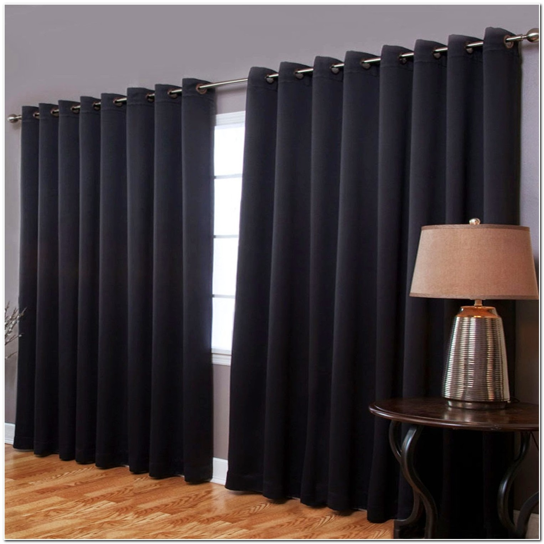 Rideau Occultant Velours Noir