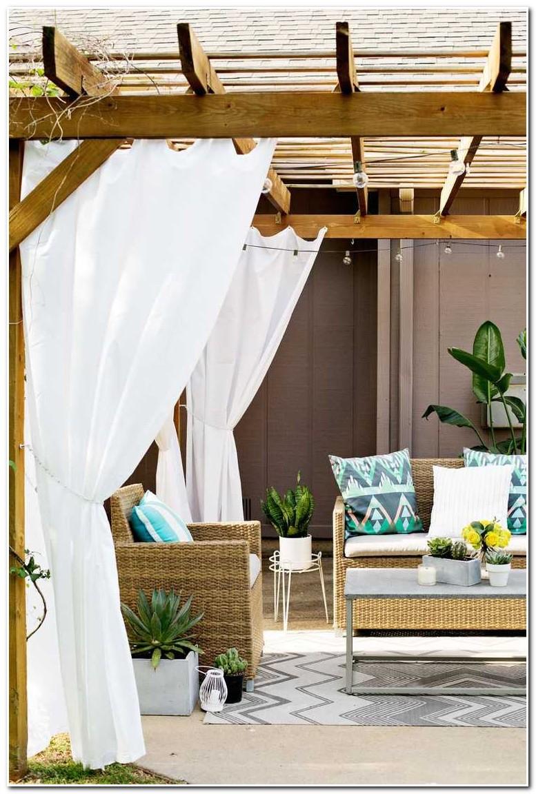 Rideau Pour Terrasse Exterieur
