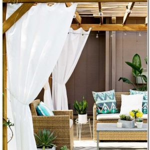 Rideau Pour Terrasse Maison