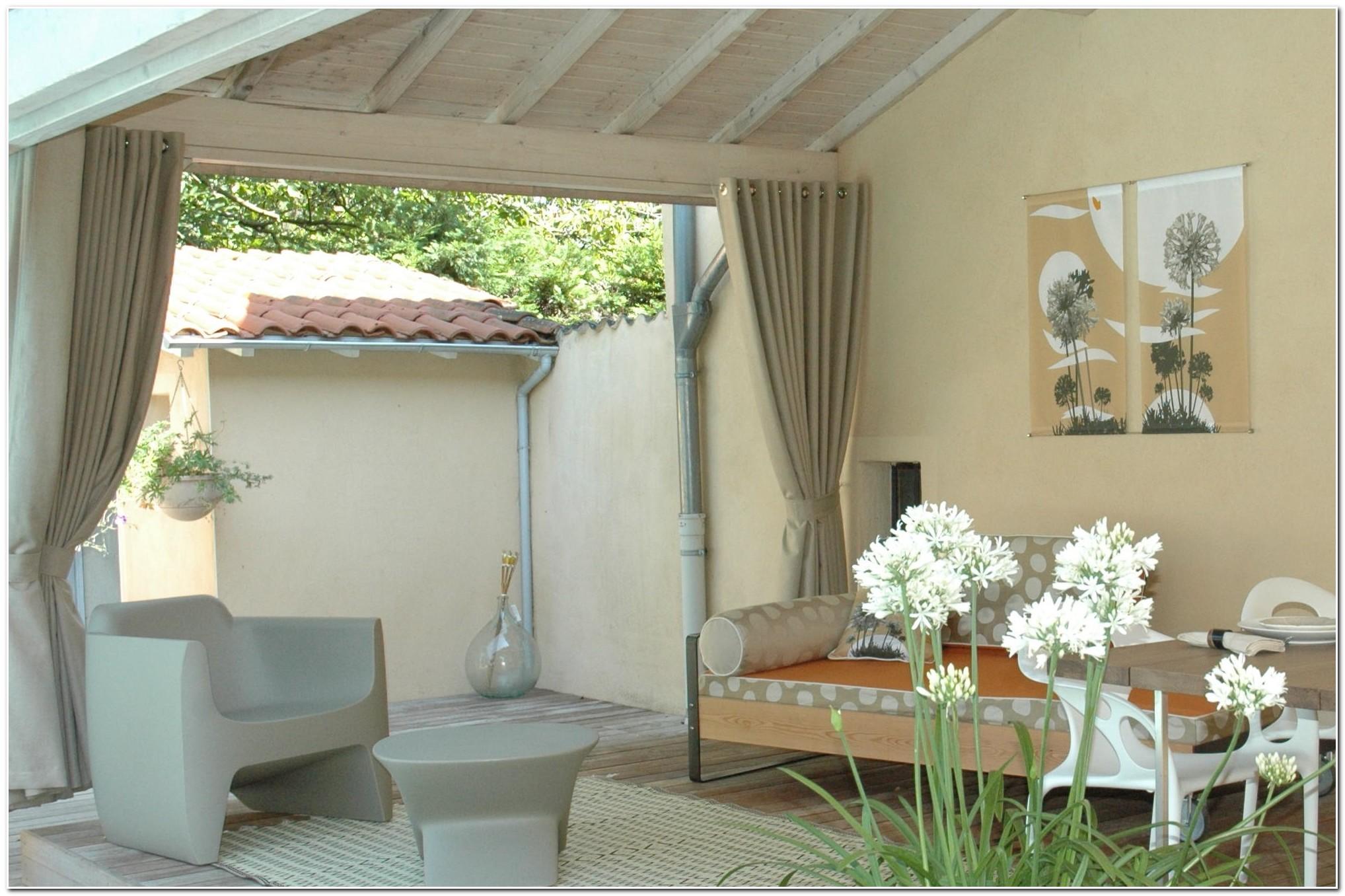 Rideau Transparent Pour Terrasse