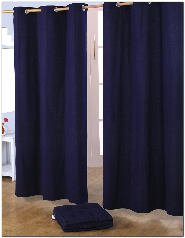 Rideau Voilage Bleu Nuit