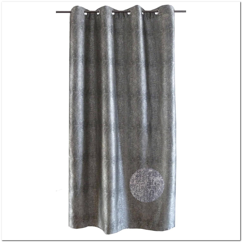 Rideau+fil+gris+argenté