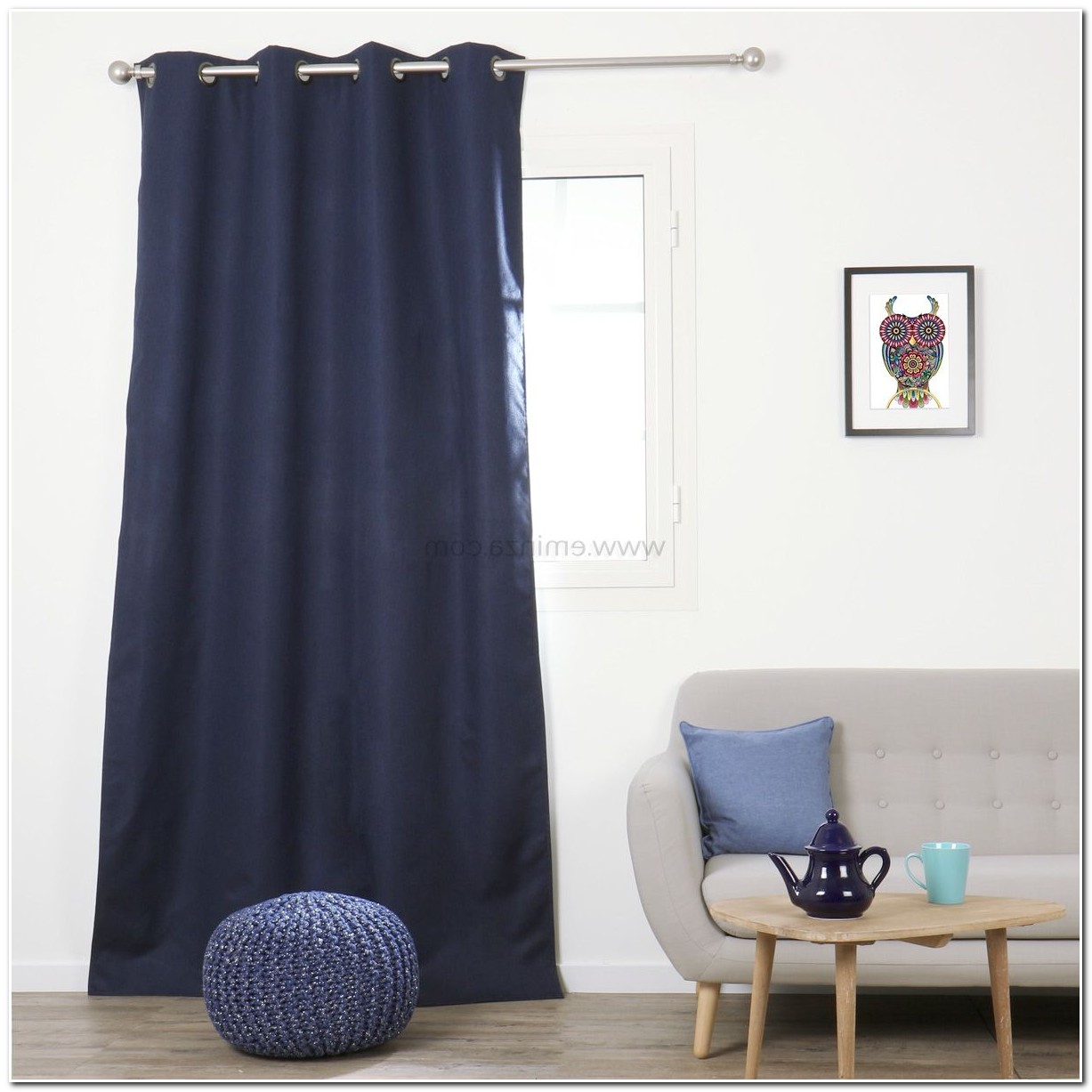 rideaux occultants bleu rideaux occultants with rideaux occultants bleu top ikea rideaux. Black Bedroom Furniture Sets. Home Design Ideas