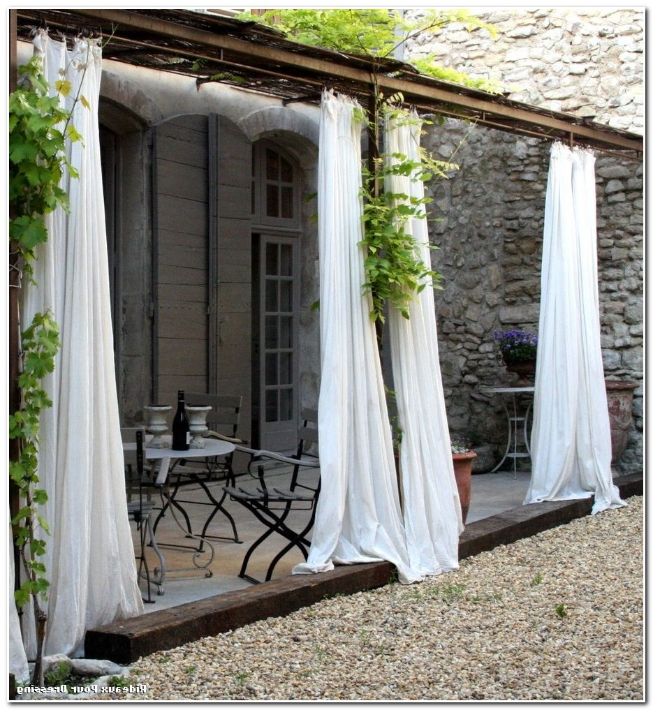 Rideaux Pour Terrasse Restaurant