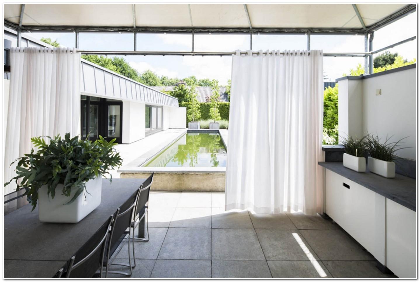 Rideaux Transparents Pour Terrasse