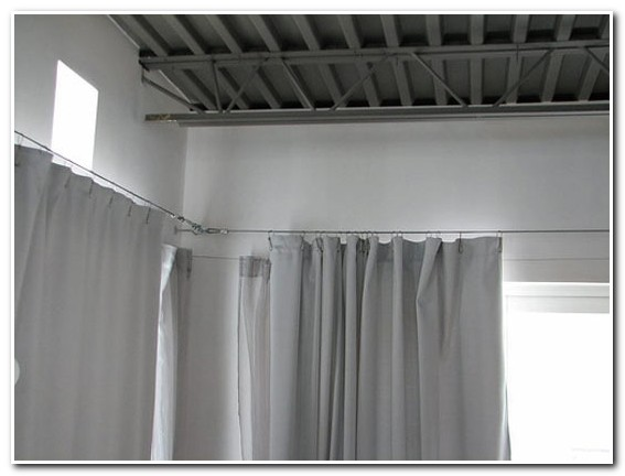 Rideaux Tringles Plafond
