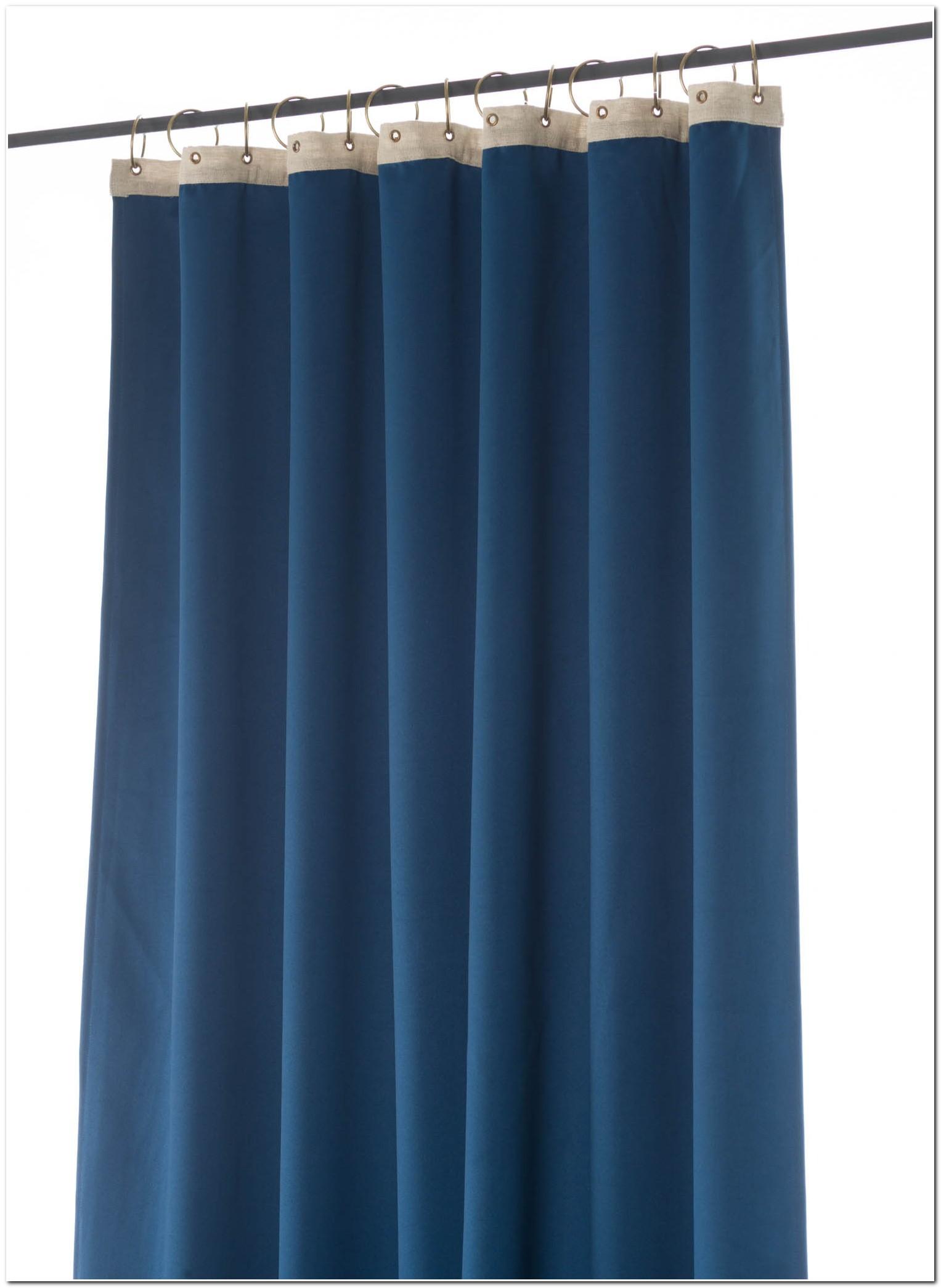 Rideaux Velours Bleu Nuit