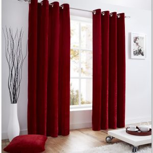 Rideaux Velours Rouge Home Spirit