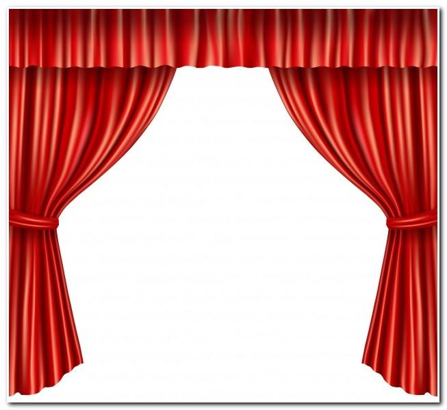 Rideaux Velours Rouge Theatre