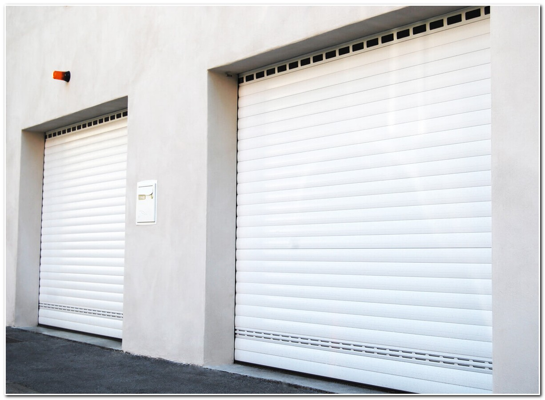 Porte De Garage Rideau Electrique