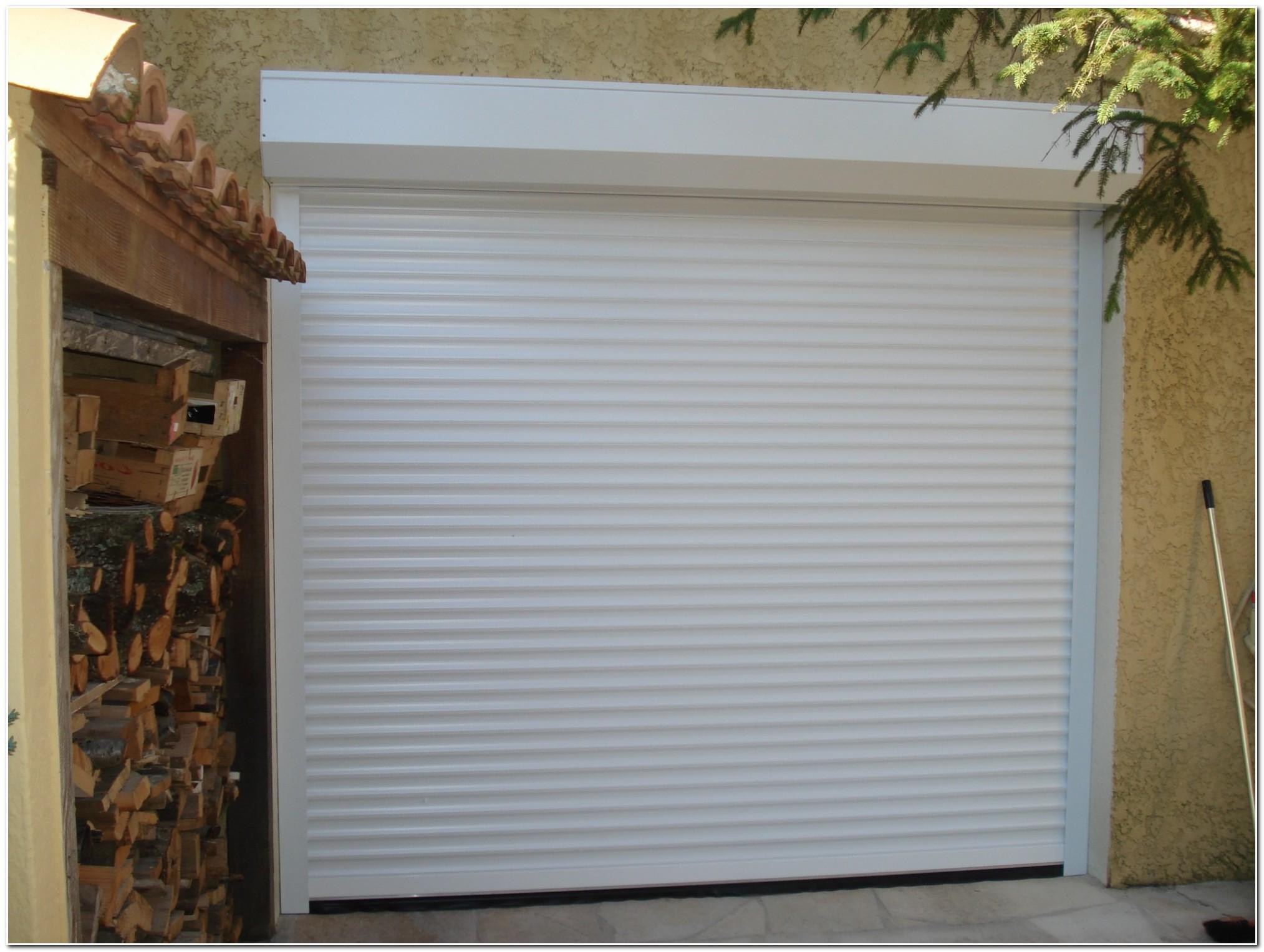 Porte De Garage Volet Roulant Castorama