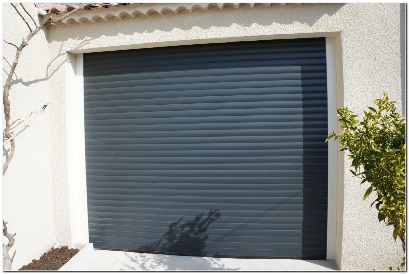 Porte De Garage Volet Roulant Pvc
