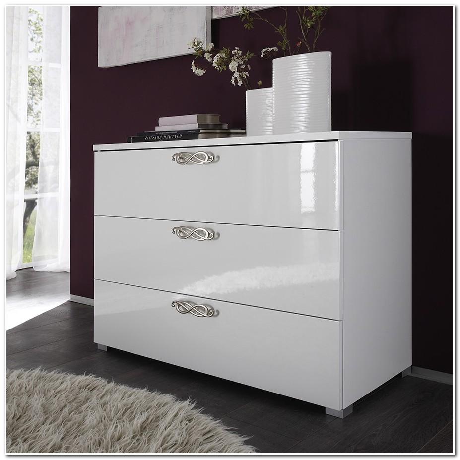 Meuble D'entrée Design Blanc