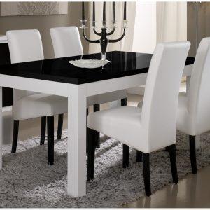 Salle A Manger Noir Et Blanc Design