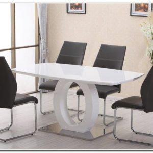 Table De Salle à Manger Design En Verre