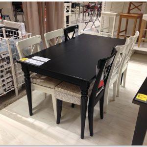 Table De Salle A Manger Carree Avec Rallonge Ikea