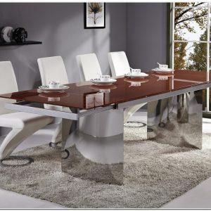 Table De Salle A Manger Design Blanche