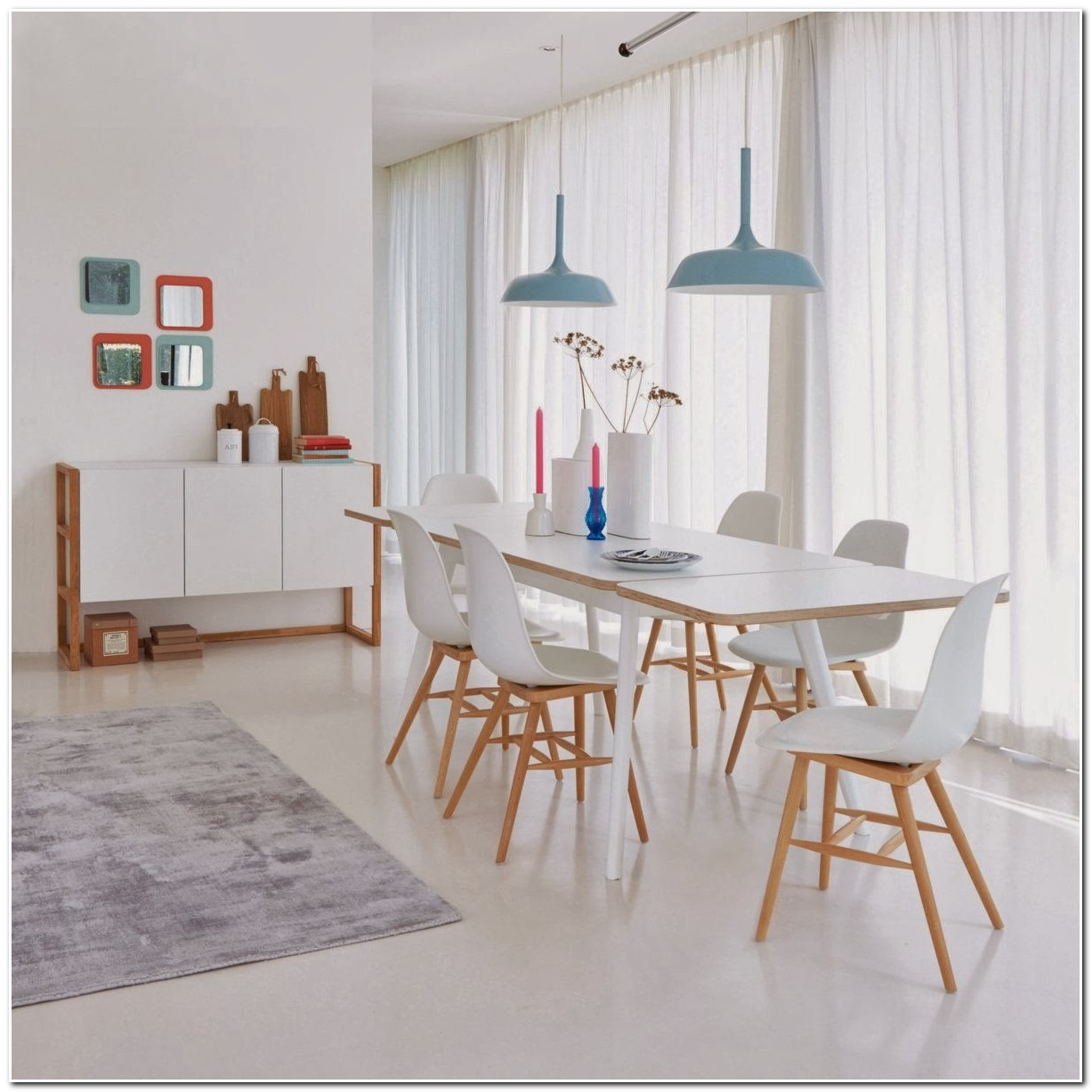 Table De Salle A Manger Design Scandinave