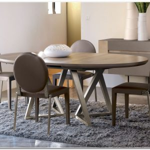Table Ronde De Salle A Manger Design