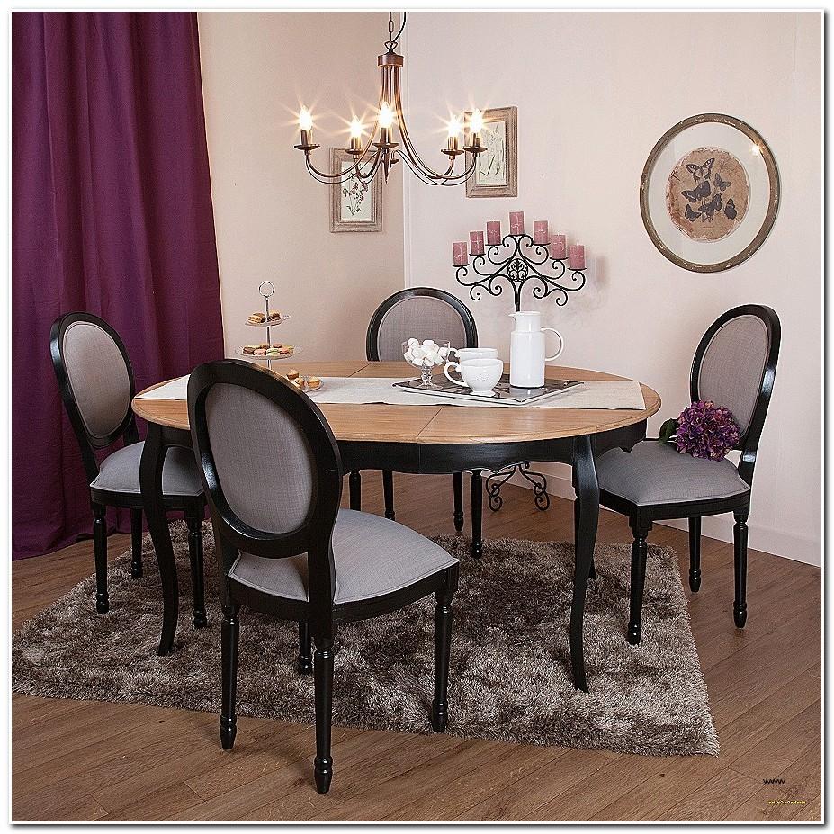 Table Salle A Manger Avec Rallonge Style Industriel