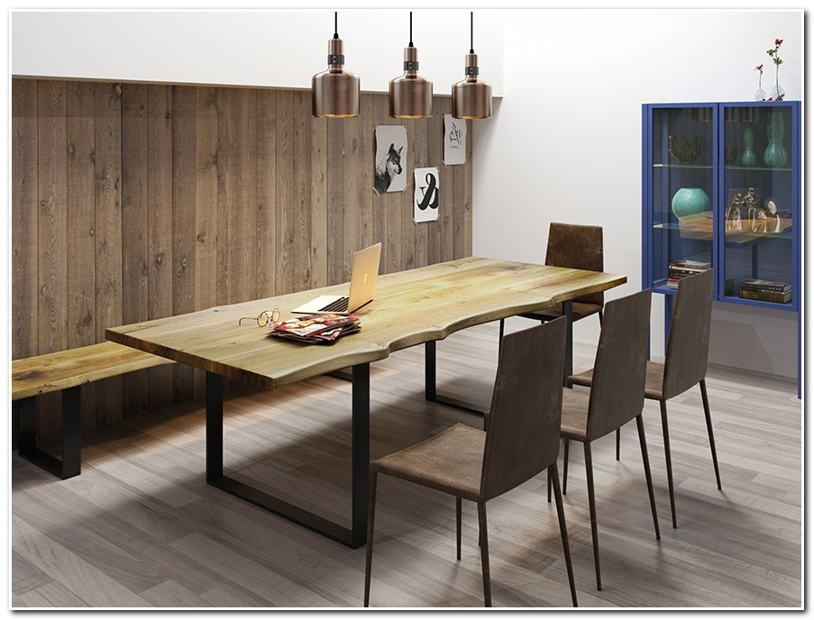 Table Salle A Manger Design Industriel